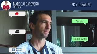 En el Cortitas y al Pie de hoy, entrevistamos a nuestro guardameta Marcelo Barovero.
