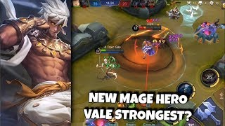 VALE - THE STRONGEST MAGE?! | WOLF XOTIC | MOBILE LEGENDS