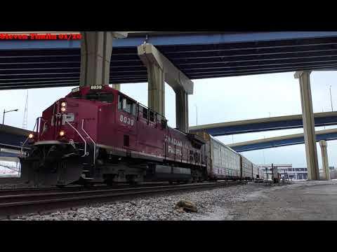 4K/HDR CP creeps through the Intermodal station.