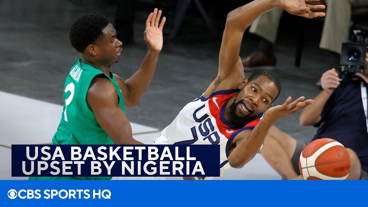 Team USA Basketball Stunned By Loss To Team Nigeria In ...