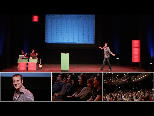 Stand-up comedy routine about Spreadsheets