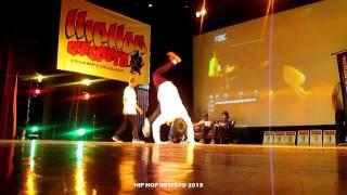 Lean Rock VS Virgen/ Final Novatos/ Hip Hop Respeto 2013