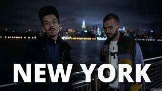 On enregistre à New-York !