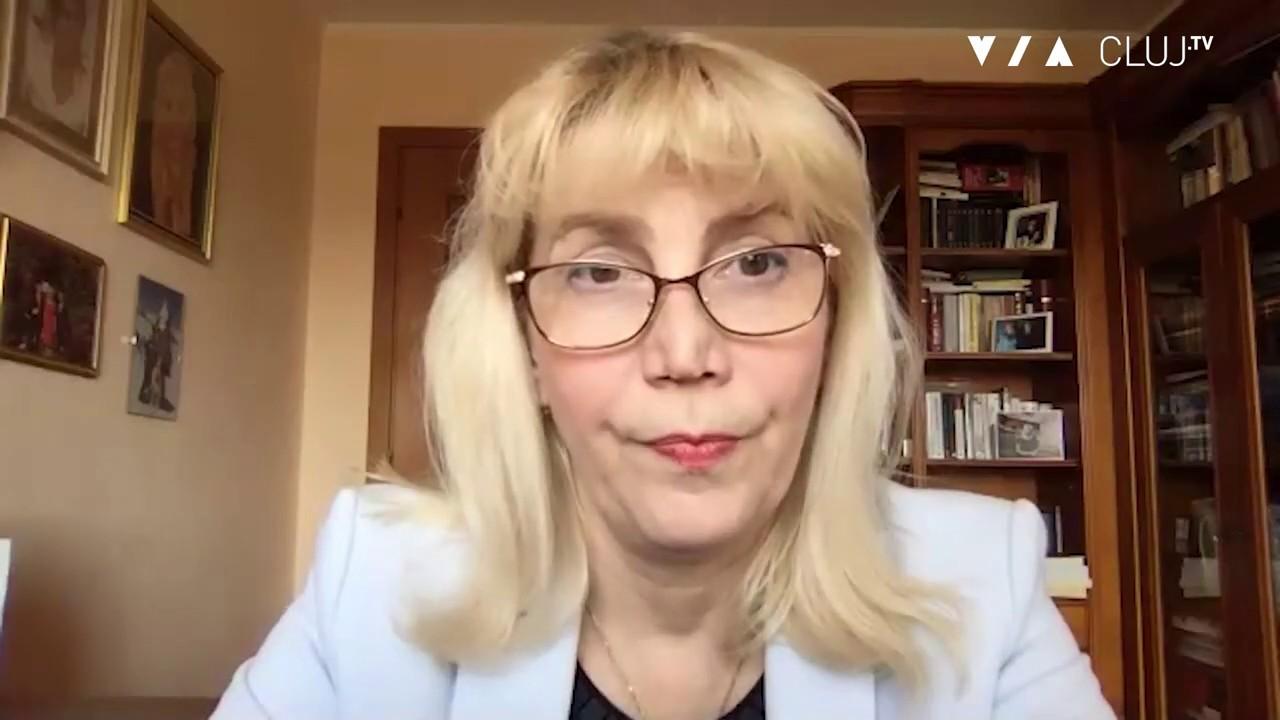 Mesajul rectorului UMF Cluj, Anca Buzoianu, către colegii de breaslă -  YouTube