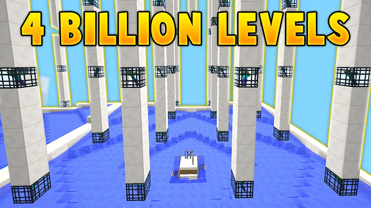 The 4 BILLION Level Island in Minecraft Skyblock