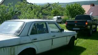 видео: Mercedes benz w123 Restauration Barn-find Oldtimer  rebuild