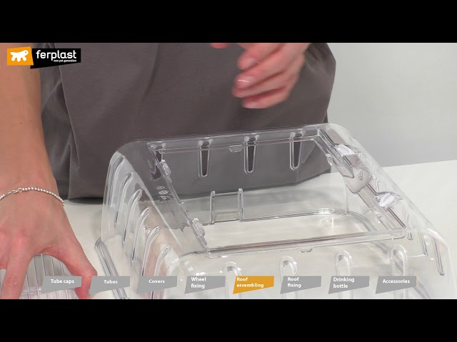 FERPLAST COMBI 1 HAMSTER HOME: ASSEMBLY INSTRUCTIONS