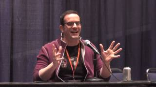 Winter Sac-Anime 2017 J. Michael Tatum Panel - Part 1