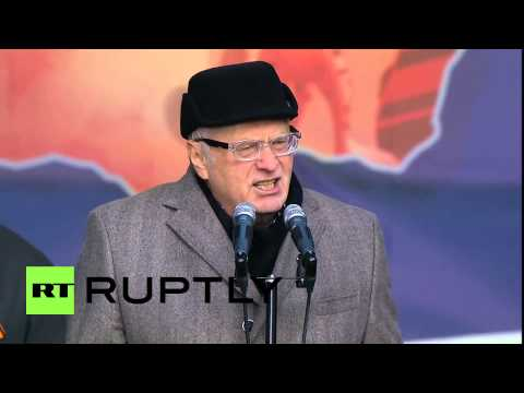 Russia: 'We won't tolerate Western sanctions' - Liberal Democratic Party leader Zhirinovsky