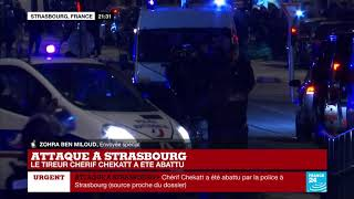 Attaque à Strasbourg : Chérif Chekatt abattu par la police après 48h de traque