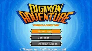 Digimon Adventure PT-BR - Início De Gameplay, em Português (PSP)