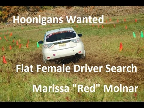Hoonigans Wanted   Fiat Female Driver Search  Marissa Red Molnar