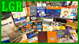 Opening Tons of Retro Tech - the Largest LGR Unboxing Yet!