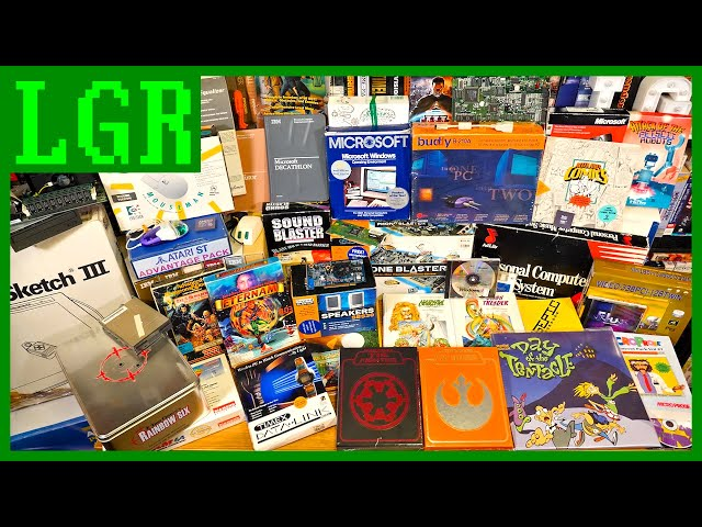 Opening Tons of Retro Tech — the Largest LGR Unboxing Yet!