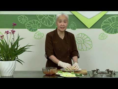 Món chay 218 - Kim chi bắp cải cuộn