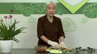 """Chương trình dạy nấu món chay """"Kim chị bắp cải cuộn"""" Hướng dẫn: Ngu..."""