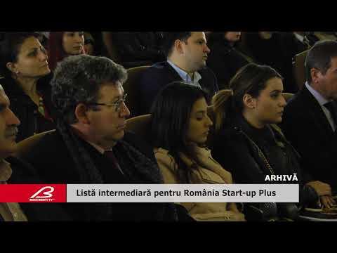 Listă intermediară pentru România Start-up Plus