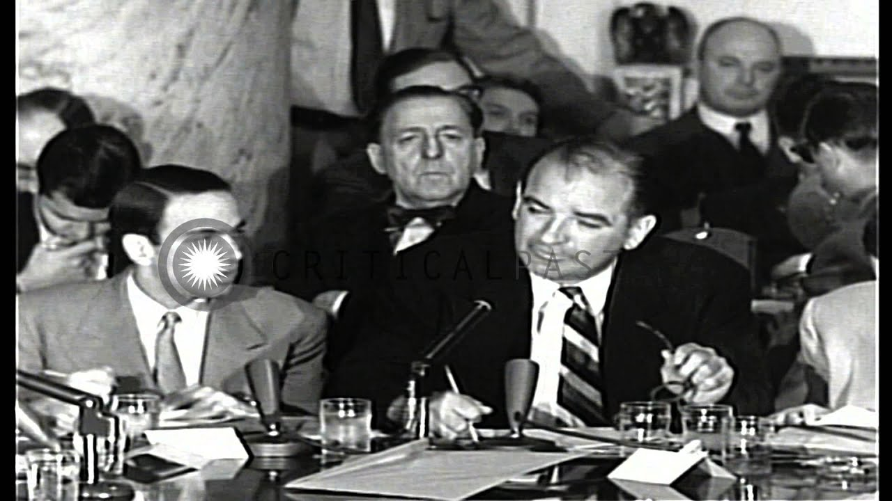 "the crucible vs army mccarthy hearings Free essay: the salem witch trials and the story of joseph mccarthy are very  "" the crucible"" during the 1950's as a response to mccarthyism and the us."