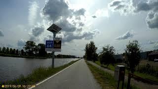 Appingedam To Groningen 09-06-19 Part 4/5 (Rijksweg N360 Garmerwolde-Vaargeul Lewenborg)