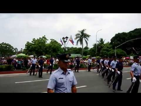PHILIPPINE COAST GUARD Silent Drill Company Performance. CGOC Class 15 & 16-2014.