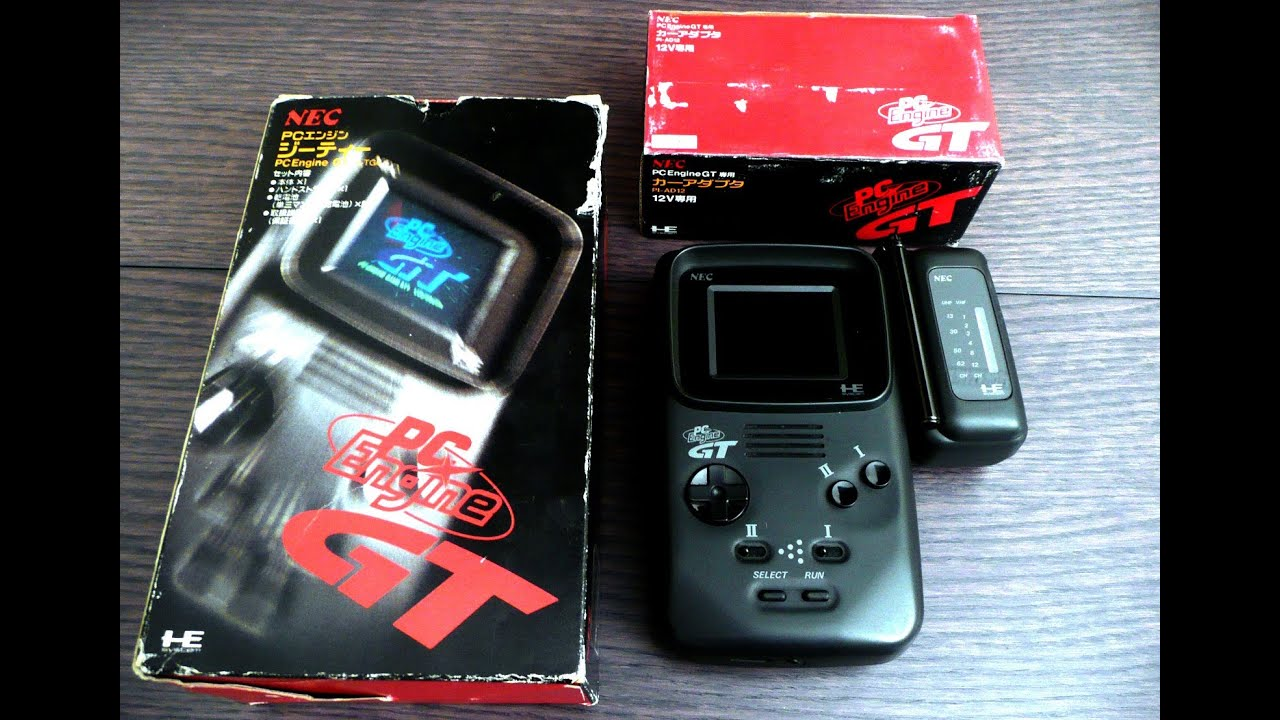 The Handheld PC Engine GT / Turbo Express!