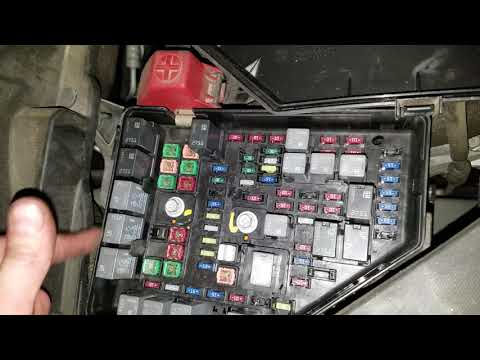 GMC Acadia Starter Fuse And Relay Location
