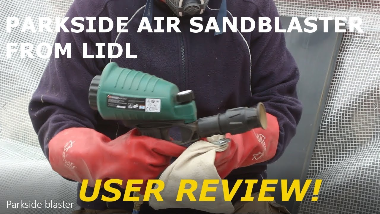 Parkside Air Sandblaster Gun Pdsp 1000 B2 User Review