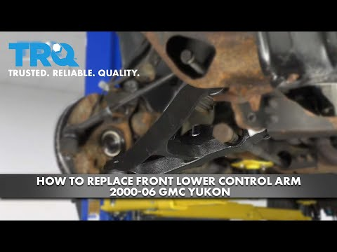 How to Replace Front Lower Control Arm 2000-06 GMC Yukon