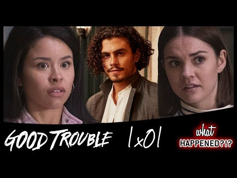 GOOD TROUBLE 1x01 Recap: Callie & Mariana On Their Own (The Fosters Spin-off) - 1x02 Promo
