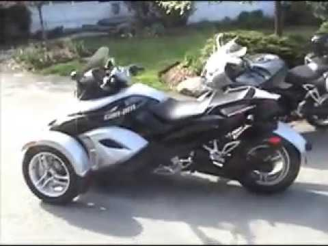 can am spyder 2008 amazing youtube. Black Bedroom Furniture Sets. Home Design Ideas