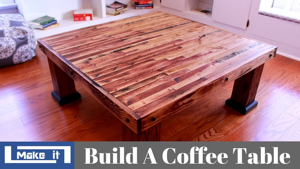 how to build a table from 2x4
