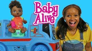 Potty Dance Baby Alive's Big Train Ride !    Toy Review    Konas2002