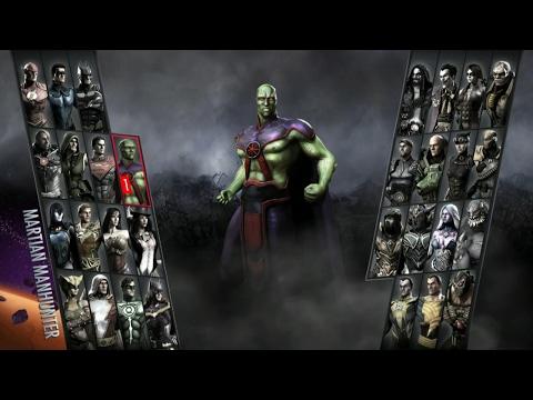 Injustice: Gods Among Us Arcade #25 - Martian Manhunter