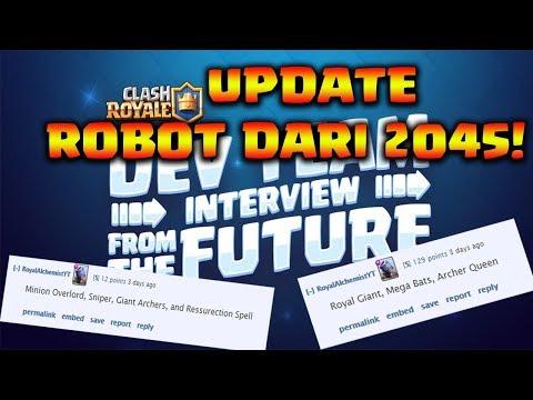 ROBOT DARI 2045 TENTANG UPDATE CLASH ROYALE - Clash Royale Indonesia