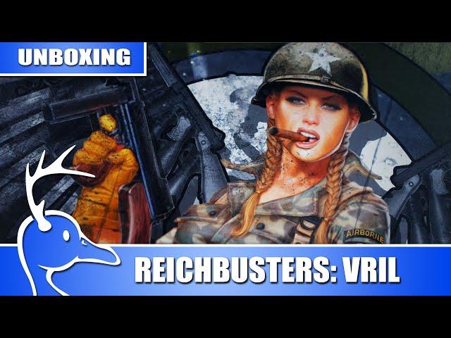 Reichbusters: Projekt Vril - Vue d'ensemble - (Quackalope Unboxing)