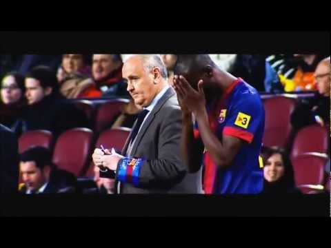 Retour d'Eric Abidal avec le Barça contre Majorque ! (06/04/13)