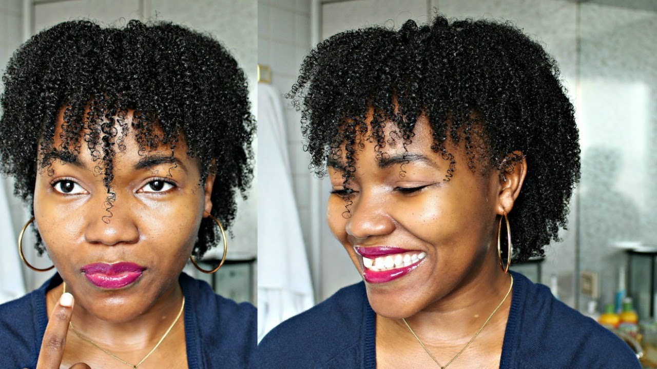 wash and go hairstyles in 2017 - winter wash and go fine natural hair part  2 - fine hair