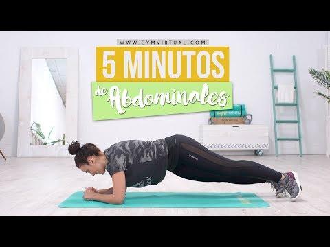 5 Minutos de abdominales | Rutina rápida e intensa