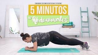 5 Minutos de abdominales   Rutina rápida e intensa
