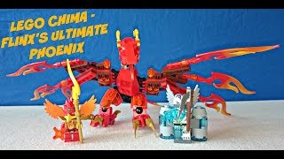 LEGO Legends of Chima 70221 Flinx's Ultimate Phoenix