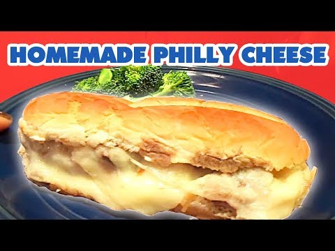 Homemade Philly Cheese Steak in the Slow Cooker Recipe | Large Family Style!