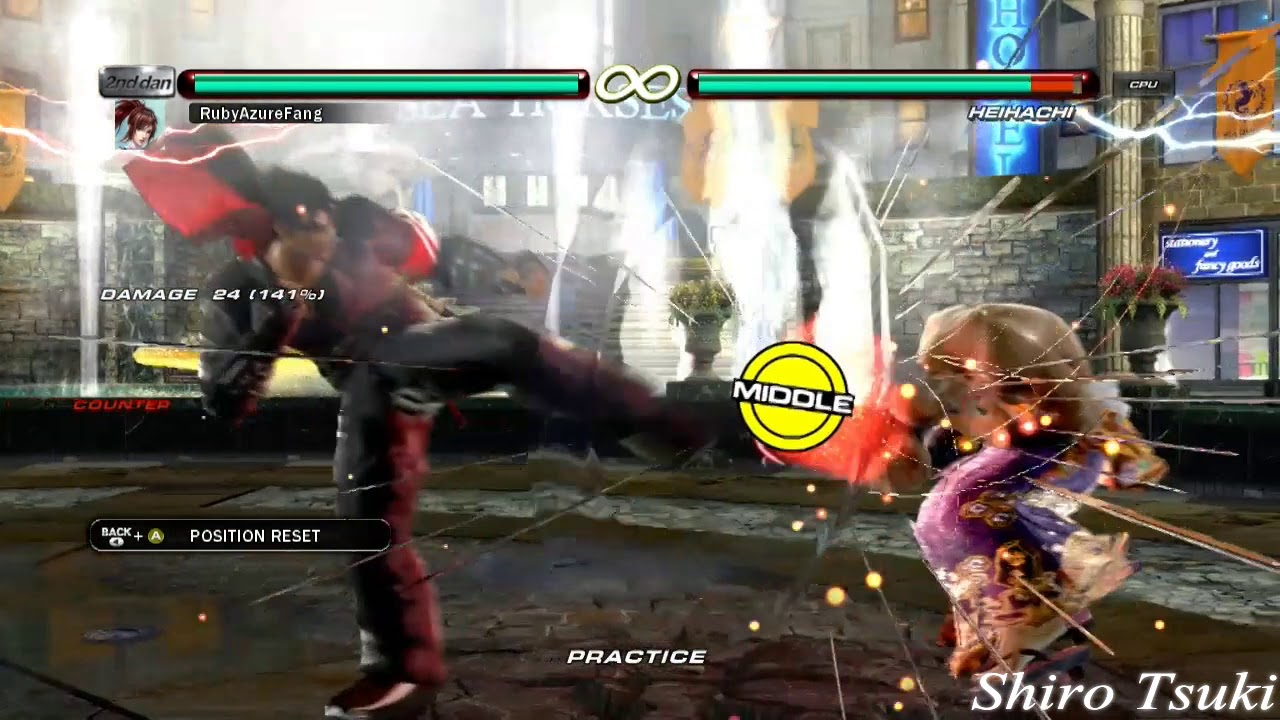 Tekken 6 - Xbox One X Input Response Test