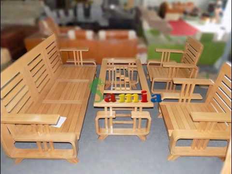 Mẫu bàn ghế gỗ phòng khách nhỏ giá rẻ