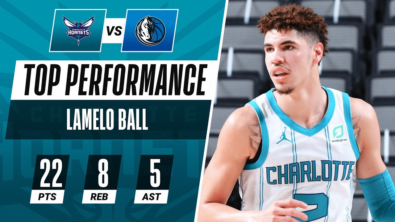 Lamelo Ball Tallies A Team High 22 Pts 8 Reb 5 Ast In The Hornets W Youtube