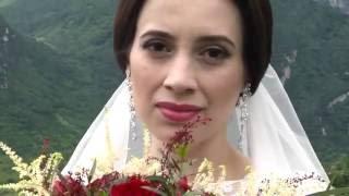 Свадебная прогулка. Александр и Лилита. Осетия Владикавказ 2016