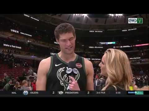 Bucks' Brook Lopez on beating his brother Robin