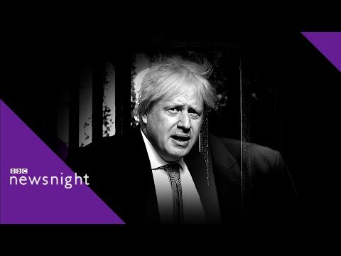 Boris Johnson: A John Sweeney Tribute - BBC Newsnight