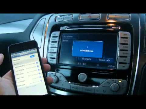 how to pair mobile phone via bluetooth to ford mondeo with. Black Bedroom Furniture Sets. Home Design Ideas