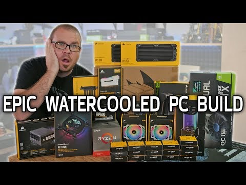 Building a Water Cooled Micro-ATX Gaming PC with Hydro X - Part 1