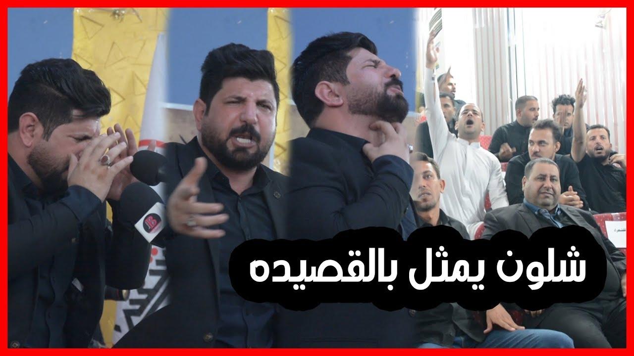 الله اكبر يا رفعت الصافي شسويت بالجمهور من وره تمثيلك بالقصيده | مهرجان الوفاء لرمز الوفاء